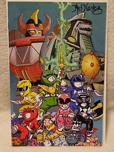 MAT NASTOS MIGHTY MORPHIN POWER RANGERS LAS VEGAS COMIC CON 2018 HAND SIGNED