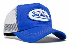 Da van Dutch Mesh Trucker base Cap [Classic Royal/whtie] Cappello Berretto Basecap ha