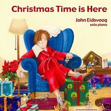 JOHN EIDSVOOG: Christmas Time Is Here [CD] Solo Piano Jazz Instrument Holiday