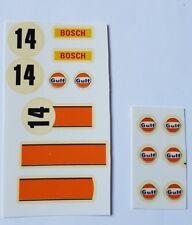 Calcas Porsche 917, Exin, Scalextric, Triang, barniz original