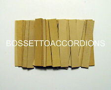 Accordion REED LEATHER LEATHERS VALVES SET OF 36 Size 4 Ventile für Akkordeons
