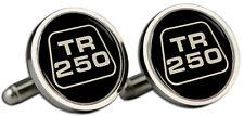 Triumph TR250 Logo Cufflinks and Gift Box