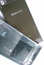 Replacement housing parts battery back cover for Lenovo K900 phone silver grey