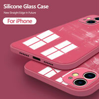 Shockproof Liquid Tempered Glass Case Cover For iPhone 12 Pro Max 11 X XR XS 8 7