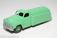 DINKY TOYS 440 STUDEBAKER PETROL TRUCK LORRY GREEN EXCELLENT CONDITION REPAINT