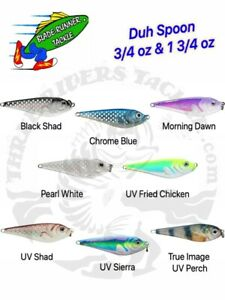 Blade Runner Duh Spoon for Jigging 3/4oz and 1 3/4oz sizes - Choose Color