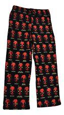 Marvel Mens Deadpool Expressions Pajama Lounge Sleep Pants New S, M