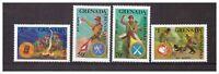 S14389) Grenada 1988 MNH Scout 4v