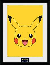 Pokemon Poster im Rahmen Pikachu 45 x 34 cm NEU & OVP