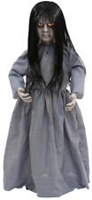 Halloween Animated LIL SWEET VENGEANCE Talking Light Up Doll Prop Haunted House