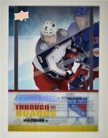 2019-20 Credentials Through the Boards #TTB-8 Artemi Panarin - New York Rangers