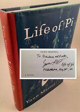 Life of Pi : A Novel [SIGNED FIRST EDITION] 2002 Man Booker Prize Yann Martel