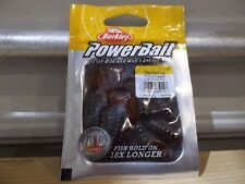 "Berkley Powerbait 3"" Power Grub PBHPG3-PS pumpkinseed NIP"