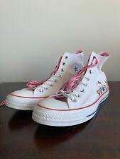 Converse Hello Kitty White/Prisim Pink/White Unisex Shoe MSize 8.5 WSize 10.5