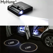 Car LOGO Projection LED Lamp Wireless Welcome Light No Interface Inductive Switc