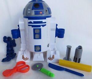 Play-Doh R2-D2 Playset Star Wars The Clone Wars Lightsaber  Hasbro 3+ 2009 EUC