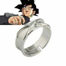Dragon Ball Z Dark Goku Time Ring Cosplay Prop Black Gogeta Adjustable Ring