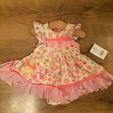 Organic Cotton Floral Dresses (0-24 Months) for Girls