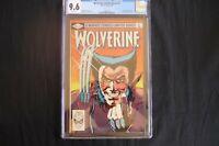 Wolverine 1 1982   (b28) CGC 9.6 MArvel