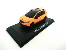 Peugeot 2008 Orange 2013 - 1/43 NOREV VOITURE DIECAST DEALER PACK MODEL 479833
