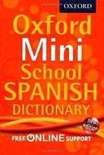 Mini Diccionario Escuela Oxford, Oxford Diccionarios De Español   Libro De Bolsillo   97
