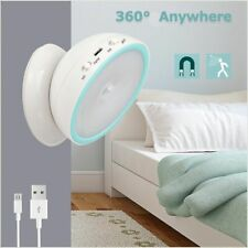 Rechargeable LED USB Night Light Lamp with PIR Motion Sensor for Toilet Kitchen
