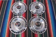 1961 Chevy Impala  Bel Air Original Hubcaps Wheel Covers OEM SET OF 4 CAPS NICE