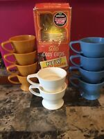 Vintage Solo Cozy Cups With Original Box TV Special Record Offer 10 Cup Holders