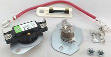 Dryer Thermal Cut Out Kit and Fuse for Whirlpool, Sears, 279816 and 3392519