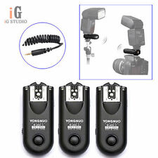 3pcs Yongnuo RF-603 II  Wireless Remote Flash Trigger C1 for Canon 1000D/600D