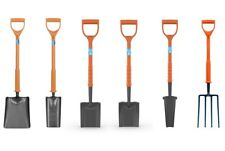 Fully Insulated Contractor Shovel Solid Forged Taper/Square/Trench/Drainage