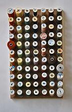 Spool holder sewing storage cotton reel thread craft wall organiser medium size