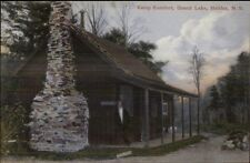 Halifax NS Nova Scotia Kamp Kumfort Grand Lake c1910 Postcard