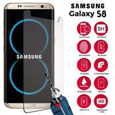 Per Samsung Galaxy S8-custom made in vetro temperato PELLICOLA PROTEGGI SCHERMO