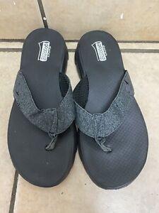 Barely Worn Women's Skechers Gogamat Flip Flop Sandals Size 9