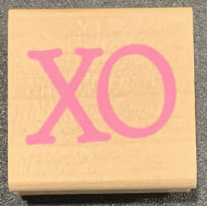 Rubber Stamp XO Love Valentine