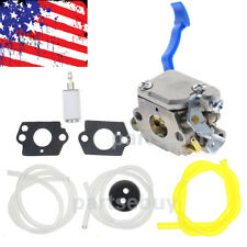 New Carburetor & Fuel Line Kit for Husqvarna 125B 125Bvx 125Bx Rep. Zama C1Q-W37