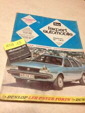 Revue Technique Expert Automobile Volkswagen VW Passat édition 1982
