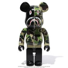 Medicom Be@rbrick BAPE ABC CAMO SHARK Green 1000% WGM ape Bearbrick