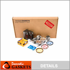 Fits 99-01 Mazda Protege 1.6L DOHC Full Gasket Pistons Bearings and Rings Set ZM