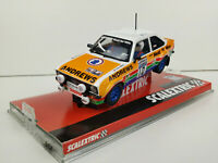 "Slot car Scalextric A10147S300 Ford Escort MKII #10 ""Heat for Hire"""