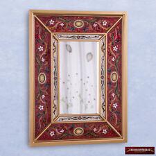 Peruvian Decorative Wall Mirror - Christmas Holiday Decor - Arts Crafts Mirror