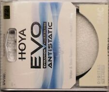Hoya Evo Antistatic UV Filter 72mm Dust/Stain/Water Repellent, Low-Profile Frame
