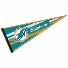 "Miami Dolphins Full Size 12"" X 30"" NFL Pennant"