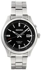 Seiko Men's SKA719P1 Kinetic Black Easy Read Dial Watch - Argos eBay