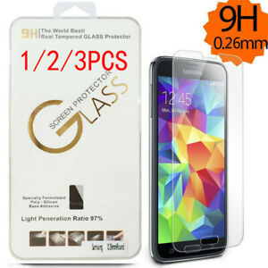 1/2/3pc Premium Tempered Glass Screen Protect for SAMSUNG Galaxy Note 3 4 5 9H !