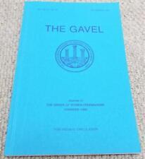 1997 The Gavel Magazine Vol 64 No198 - Order of Women Freemasons - Masonic
