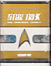 Star Trek: The Original Series - Season One (DVD 2012) REMASTERED