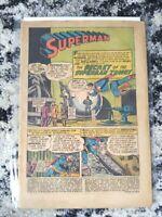 "Superman #110 **SILVER AGE** (DC 1957)""Secret of the Superman Trophy"" - No cover"