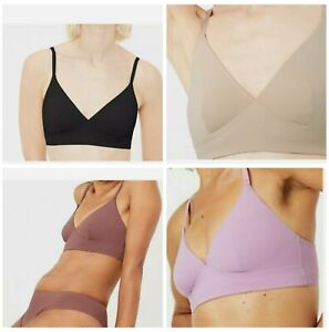 M&S Body Smoothing Non-Wired Soft Bra Bralette In 4 Colours! RRP £12